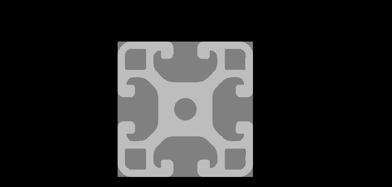 perfil tipo B - escuadra 40